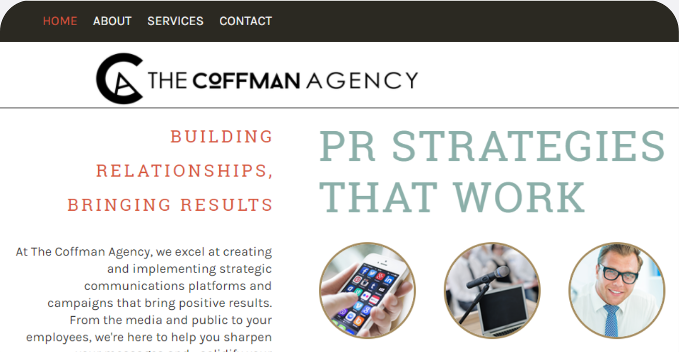 We Dream In Pixels The Coffman Agency Before